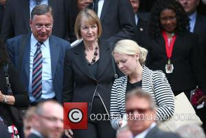 Atmosphere - Tenth anniversary of the London 7/7 bombings memorial service at St Paul's Cathedral - London, United Kingdom -...