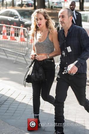 Alice Dellal - Paris Haute Couture Fashion Week - Chanel - Arrivals - Paris, France - Tuesday 7th July 2015