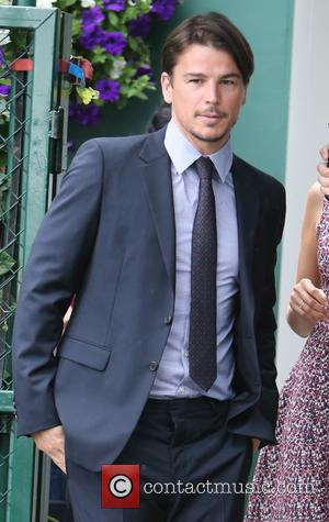 Josh Hartnett , Tamsine Egerton - 2015 Wimbledon Tennis Championships - Day 9 - Celebrity Sightings - London, United Kingdom...