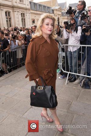 Catherine Deneuve - Paris Fashion Week Haute Couture - 'Jean Paul Gaultier' - Arrivals - Paris, France - Wednesday 8th...