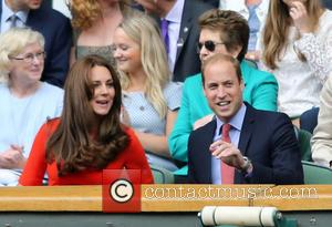 Prince William, Duke of Cambridge, Catherine, Duchess of Cambridge and Kate Middleton - 2015 Wimbledon Tennis Championships - Day 9...