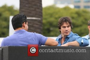 Ian Somerhalder and Mario Lopez
