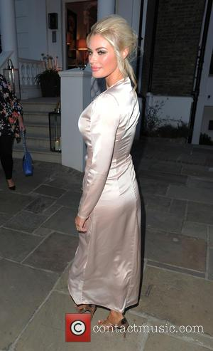 Chloe Sims - ITV Summer Party at a private address in West London - Arrivals - London, United Kingdom -...