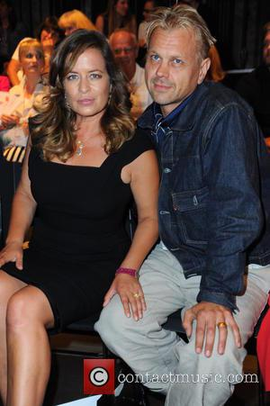 Jade Jagger and Adrian Fillary - Lavera Green Fashion Award as part of Mercedes-Benz Fashion Week Spring/Summer 2016 at e-Werk...