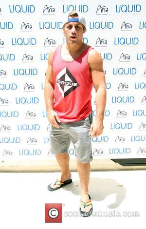 Urijah Faber - UFC International Fight Week Pool Party held at Liquid Pool inside the Aria Resort & Casino in...