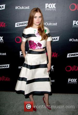 Holland Roden - San Diego Comic-Con International 2015 - Outcast bash held at the Andaz Hotel Rooftop at Andaz Hotel...