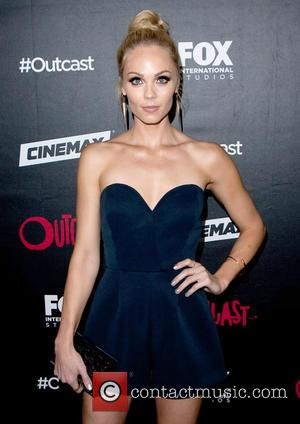 Laura Vandervoort - San Diego Comic-Con International 2015 - Outcast bash held at the Andaz Hotel Rooftop at Andaz Hotel...
