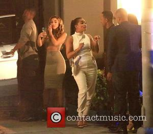 Chantel Jeffries, Lauren London, Terrence Jenkins and Donald Faison