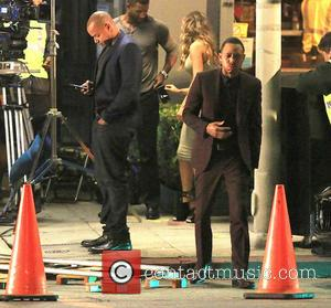 Donald Faison and Terrence Jenkins - Filming takes place on the set of 'The Perfect Match' in Hollywood - Los...