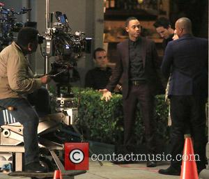 Terrence Jenkins and Donald Faison - Filming takes place on the set of 'The Perfect Match' in Hollywood - Los...