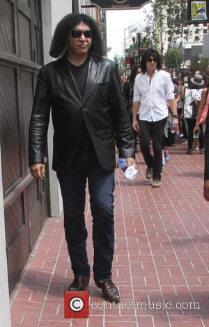 Gene Simmons - Celebrities at Comic Con in San Diego - San Diego, California, United States - Thursday 9th July...