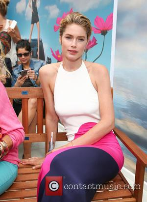 Doutzen Kroes - Doutzen Kroes shares her Mercedes Benz fashion video about GreenTec energy during Mercedes Benz Fashion Week Berlin....