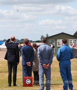 Prince William, Duke Of Cambridge and Thomas Kepler