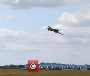 Prince William and Supermarine Spitfire Mk1 N3200