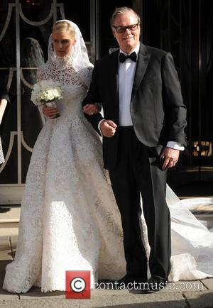 Nicky Hilton - Nicky Hilton seen leaving her hotel on her wedding day in London with her sister Paris ahead...