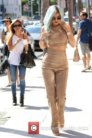 Kylie Jenner - Kylie Jenner stops by Go Greek frozen yogurt in Beverly Hills at Beverly Hills - Los Angeles,...