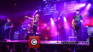 Neon Trees, Chris Allen, Elaine Bradley, Tyler Glenn and Branden Campbell