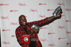 Tyrese - Tyrese promotes his new album 'Black Rose' at J&R Express inside Century 21 - New York, New York,...