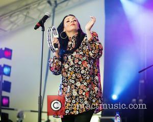 Martine McCutcheon and Stargazer - Cornbury Music Festival 2015 - Day 2 - Performances - Stargazer at Cornbury Music Festival...