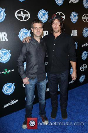 Christian Cantamessa and Norman Reedus