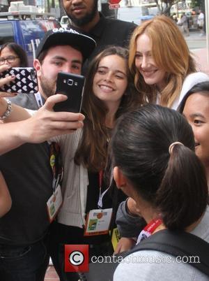 Judy Greer - San Diego Comic-Con International 2015 - Celebrity Sightings - San Diego, California, United States - Saturday 11th...