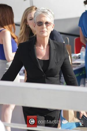 Jamie Lee Curtis - Celebrities arrive for an appearance on the TV Guide Magazine's Yacht during the San Diego Comic-Con...
