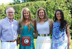 Chuck Scarborough, Beth Stern, Ellen Scarborough and Michelle Montak