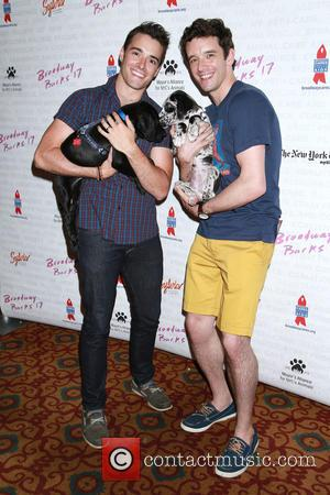 Corey Cott and Michael Urie