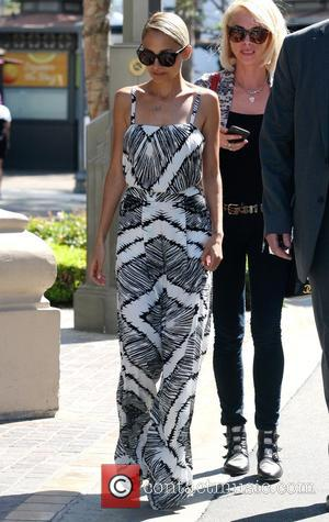 Nicole Richie - Nicole Richie arriving at her Pop-up store at The Grove - Los Angeles, California, United States -...