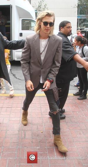 Austin Butler - San Diego Comic-Con International 2015 - Celebrity Sightings - Hollywood, California, United States - Saturday 11th July...