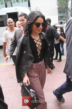 Vanessa Hudgens - San Diego Comic-Con International 2015 - Celebrity Sightings - Hollywood, California, United States - Saturday 11th July...