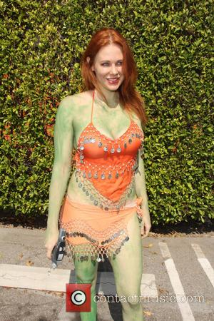 Maitland Ward - Maitland Ward as an Orion Slave Girl from 'Star Trek' - San Diego, California, United States -...