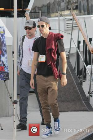 Grant Gustin - Celebrities attend an event held on the TV Guide Magazine yacht during San Diego Comic-Con International 2015...
