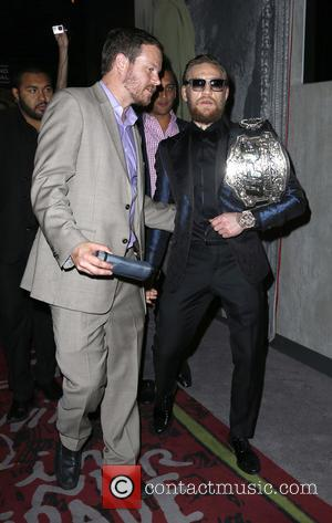 Conor McGregor - UFC Superstar Conor McGregor hosts an Official After Fight Party at Foxtail Nightclub Inside SLS Las Vegas...