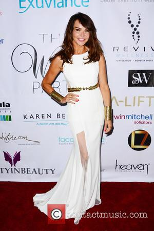 Lizzie Cundy - White Party & Beauty Party in aid of Katie Piper Foundation at Home House - London, United...