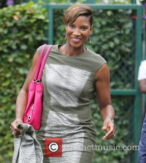 Denise Lewis - Wimbledon Tennis Championships 2015 - Celebrity Sightings - London, United Kingdom - Saturday 11th July 2015