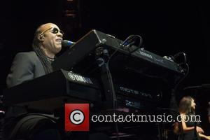 Stevie Wonder - Stevie Wonder preforming live on stage during the Calgary Stampede at Calgary Saddledome. - Calgary, Canada -...