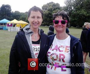Carol McGiffin - Carol McGiffin takes part in Race For Life Maidstone 2015 held at Mote Park at Mote Park...