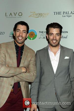 Drew Scott, Jonathan Scott and Property Brothers - 2015 Coach Woodson Las Vegas Invitational Pairings Party held at Lavo Nightclub...