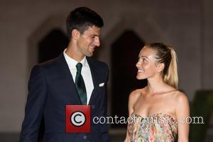 Novak Djokovic and Jelena Djokovic - Wimbledon Champions' Dinner held at the Guildhall - Arrivals. - London, United Kingdom -...