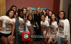 Ashley Benson, Heather Parry and Fans
