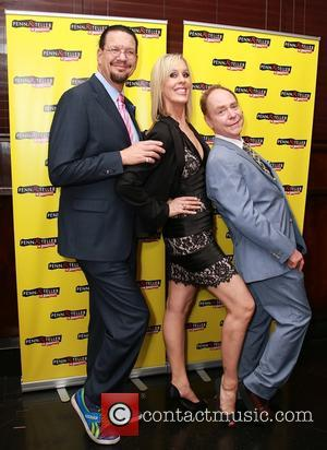 Penn Jillette, Georgie Bernasek and Teller