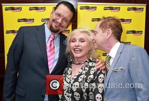 Penn Jillette, Debbie Harry and Teller