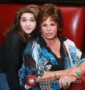 Isabella Blue Armijo and Lainie Kazan