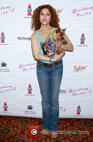Bernadette Peters - Broadway Barks 17, an annual event to benefit NYC animal shelters and adoption agencies, held in Shubert...