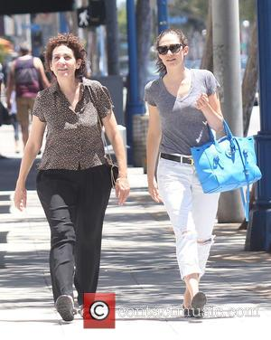 Emmy Rossum and Cheryl Rossum - Emmy Rossum out and about with her mother in West Hollywood at West Hollywood...
