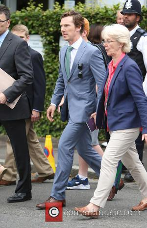 Benedict Cumberbatch - Wimbledon Tennis Championships 2015 - Celebrity Sightings - London, United Kingdom - Sunday 12th July 2015