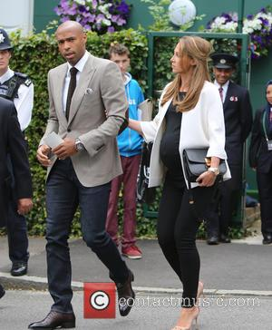 Thierry Henry and Andrea Rajacic