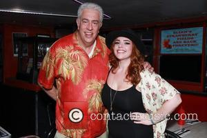 Scott Barbarino and Alysha Umphress at Ellen\'s Stardust Diner,