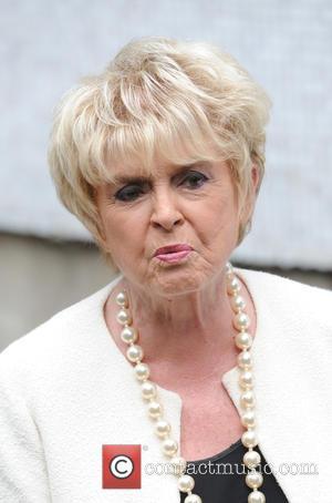 Gloria Hunniford - seen leaving ITV Studios in London after Loose Women show. - London, United Kingdom - Monday 13th...